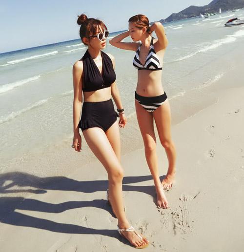 Bikini cạp cao khéo che bụng mỡ - 7