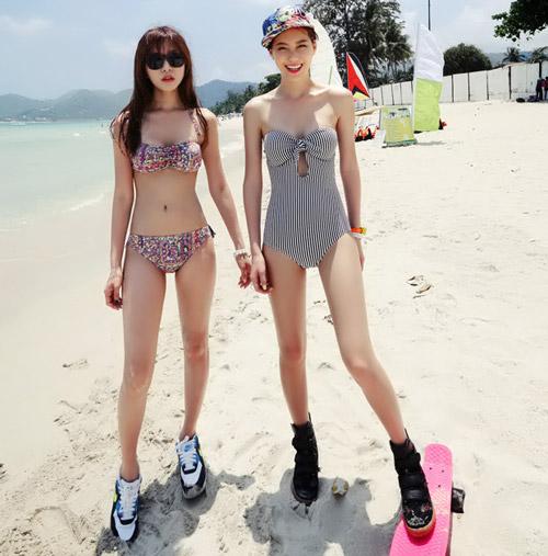 Bikini cạp cao khéo che bụng mỡ - 11