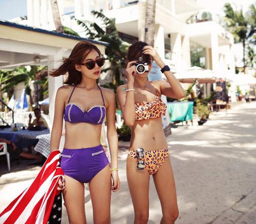 Bikini cạp cao khéo che bụng mỡ - 2