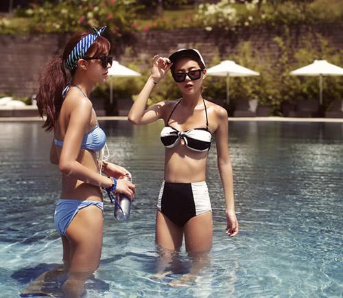 Bikini cạp cao khéo che bụng mỡ - 3