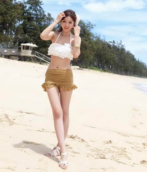 Bikini cạp cao khéo che bụng mỡ - 6