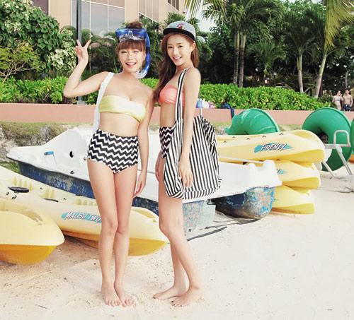 Bikini cạp cao khéo che bụng mỡ - 4