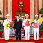 Tin tức trong ngày - Thăng hàm Thượng tướng cho 3 Thứ trưởng Bộ CA