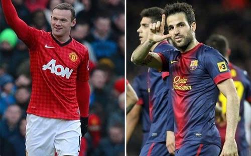 """MU-Cesc: Khi Rooney chỉ là """"đòn gió"""" - 2"""