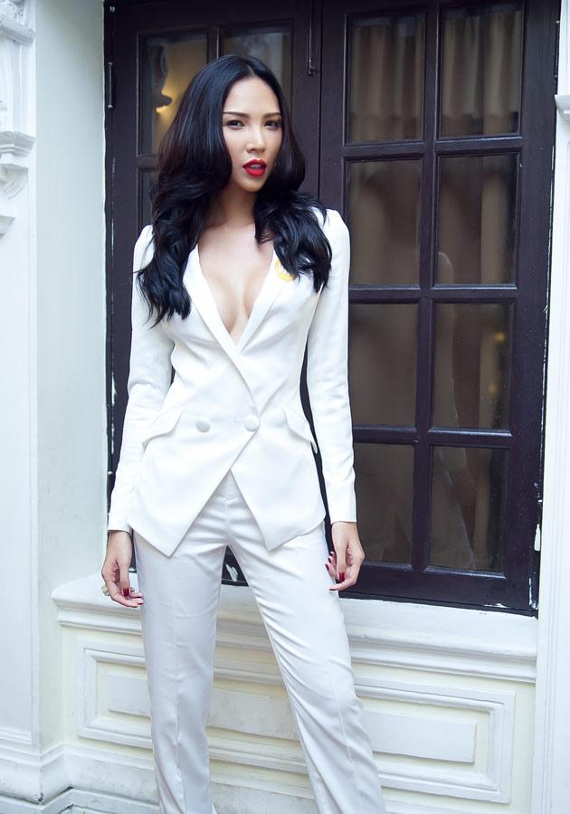 Minh Triệu táo bạo với áo vest - 2