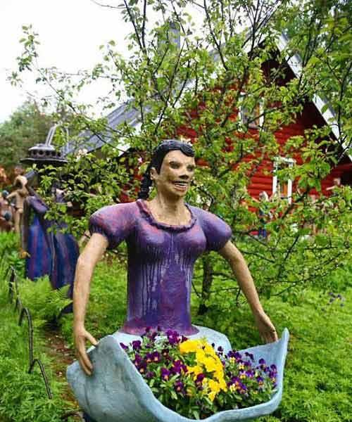 Những bức tượng kỳ quái ở rừng Phần Lan - 12