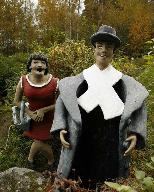 Những bức tượng kỳ quái ở rừng Phần Lan - 7