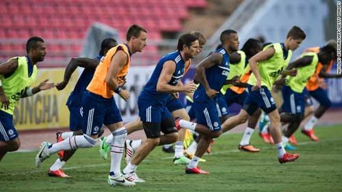 Lampard, Ramires sẽ đá chính trận gặp Indonesia XI - 1