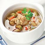 Ẩm thực - Canh sườn củ cải muối