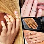 """Thời trang - Tăng cá tính với nhẫn """"móng tay"""""""