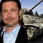 Hậu trường phim - Brad Pitt tập lái tăng dã chiến