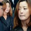"""Kim Hee Sun phờ phạc trong tang lễ """"ông trùm"""""""