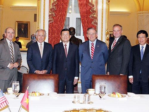 Xác lập quan hệ đối tác toàn diện Việt - Mỹ - 1