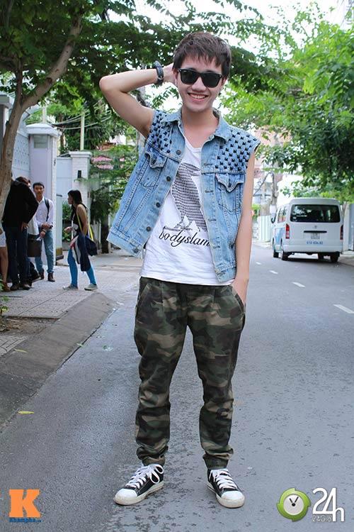 """Bạn trẻ Sài thành """"nghiện"""" mặc đồ jeans - 1"""