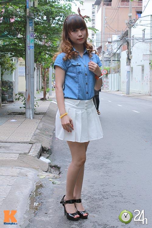 """Bạn trẻ Sài thành """"nghiện"""" mặc đồ jeans - 13"""