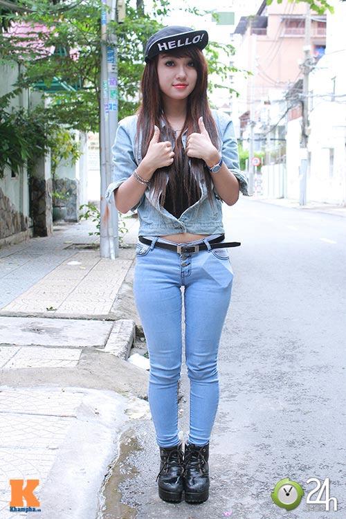 """Bạn trẻ Sài thành """"nghiện"""" mặc đồ jeans - 3"""