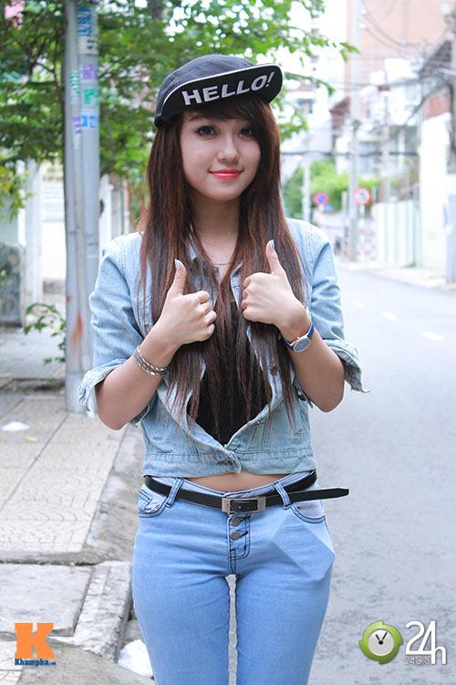 """Bạn trẻ Sài thành """"nghiện"""" mặc đồ jeans - 4"""