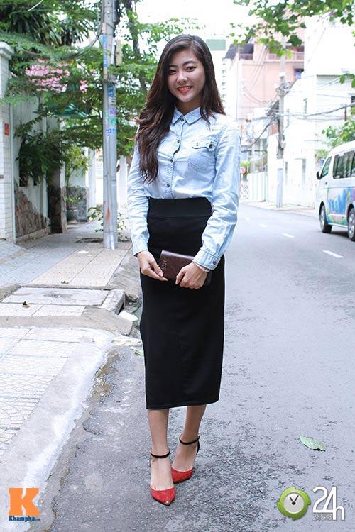 """Bạn trẻ Sài thành """"nghiện"""" mặc đồ jeans - 5"""