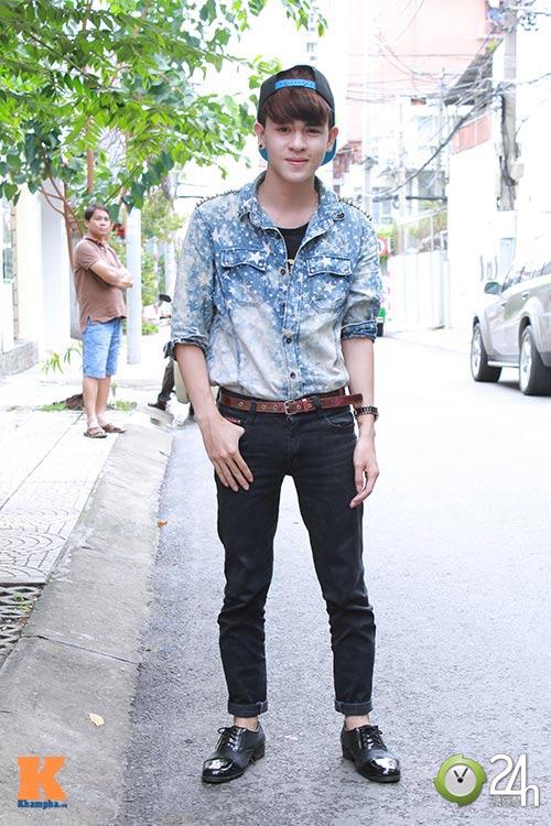 """Bạn trẻ Sài thành """"nghiện"""" mặc đồ jeans - 7"""