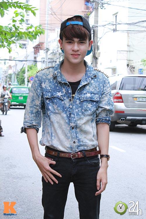 """Bạn trẻ Sài thành """"nghiện"""" mặc đồ jeans - 8"""