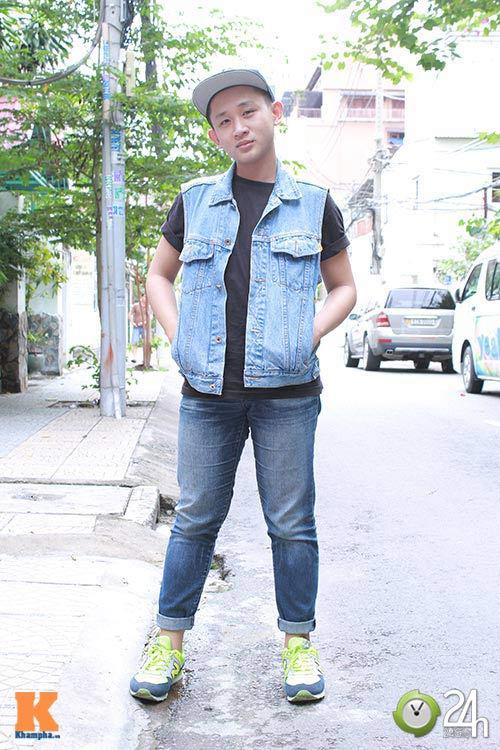 """Bạn trẻ Sài thành """"nghiện"""" mặc đồ jeans - 9"""