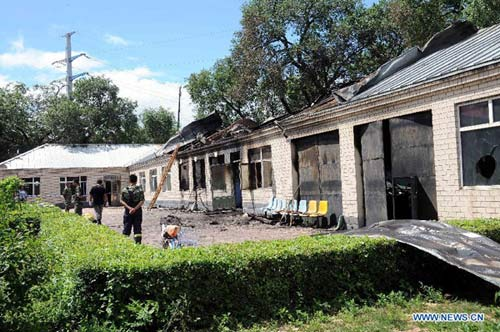 TQ: Cháy nhà dưỡng lão, 11 người thiệt mạng - 1