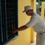 An ninh Xã hội - Học viên cai nghiện lại cưa cửa sắt trốn trại