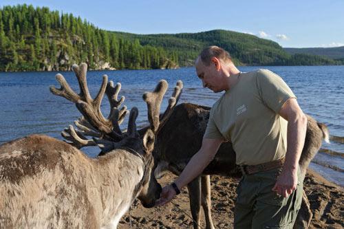 Chùm ảnh: Putin đi nghỉ hè cùng Medvedev - 6