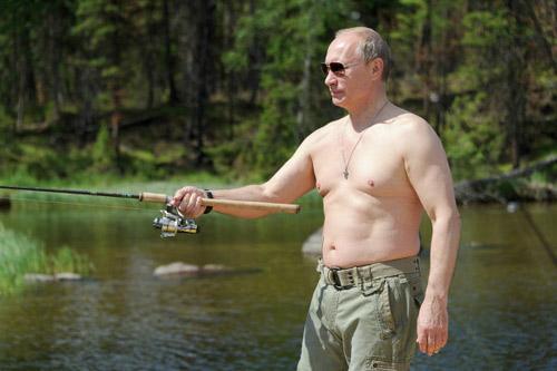 Chùm ảnh: Putin đi nghỉ hè cùng Medvedev - 7