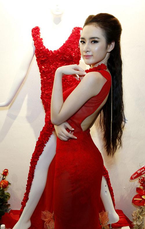 Phương Trinh mong manh với váy mỏng - 3