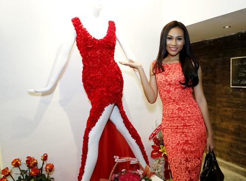 Phương Trinh mong manh với váy mỏng - 11