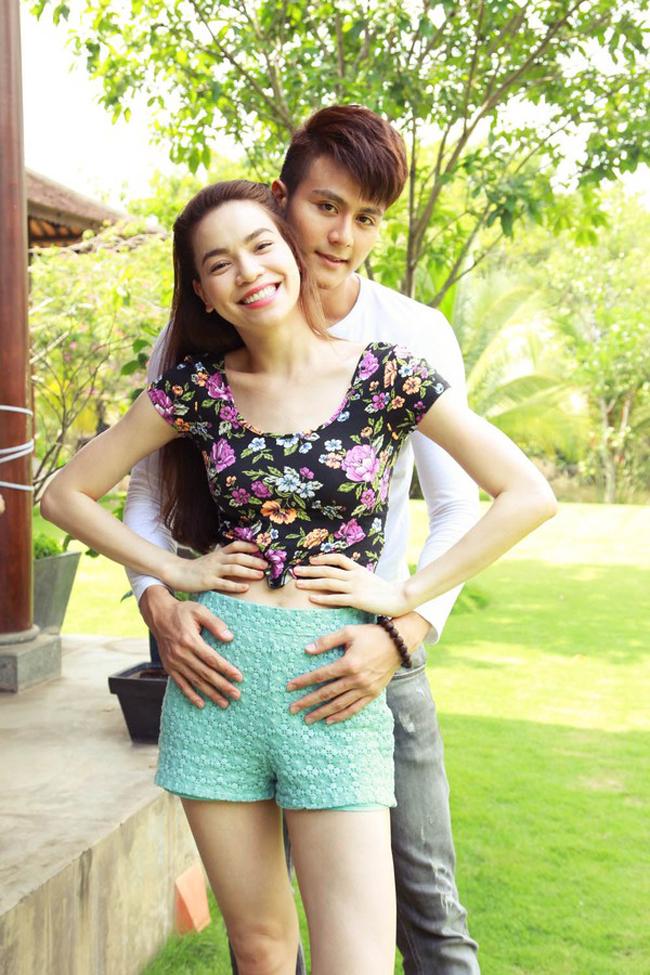 Hồ Ngọc Hà và Vĩnh Thụy đã có những cảnh quay vô cùng ngọt ngào và lãng mạn