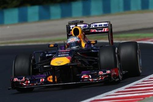 F1 - Chạy thử Hungarian GP: Suất diễn của Red Bull - 1