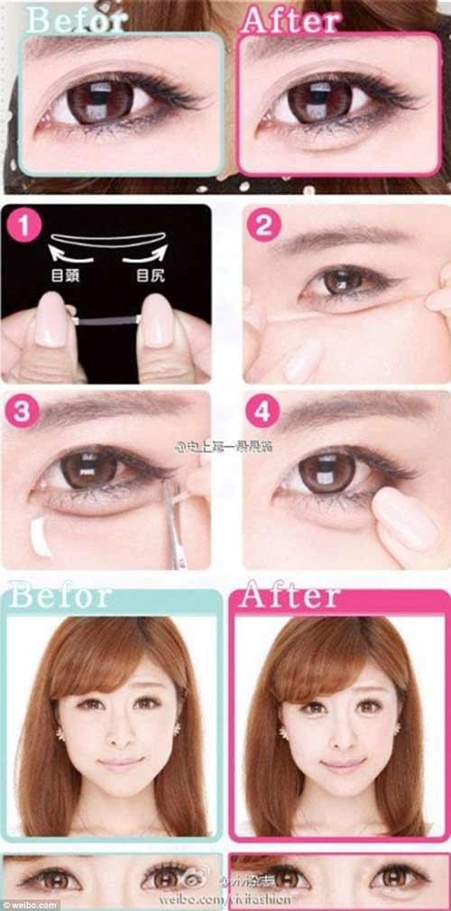 Người Hàn khoái mốt bọng mắt lớn - 1