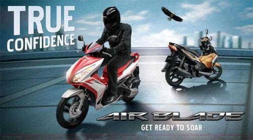 Honda Air Blade 125 và Dream 110 ra mắt ở Malaysia - 1