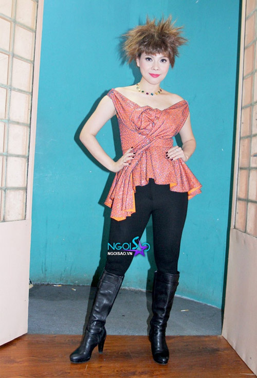 Rối mắt với váy áo rườm rà của sao Việt - 6