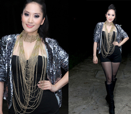 Rối mắt với váy áo rườm rà của sao Việt - 10