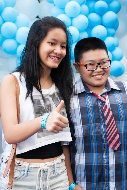 Thành Lộc xì trum cùng The Voice Kids - 10