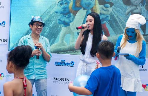 Thành Lộc xì trum cùng The Voice Kids - 1