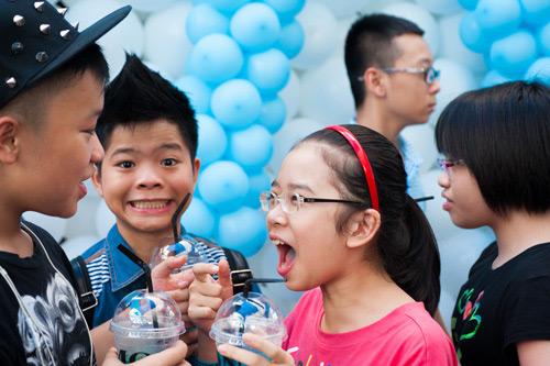 Thành Lộc xì trum cùng The Voice Kids - 11