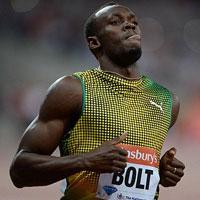"""Usain Bolt lấy lại hình ảnh """"tia chớp"""""""