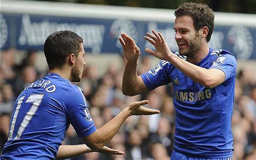 Mourinho và kế hoạch dùng Mata - 1