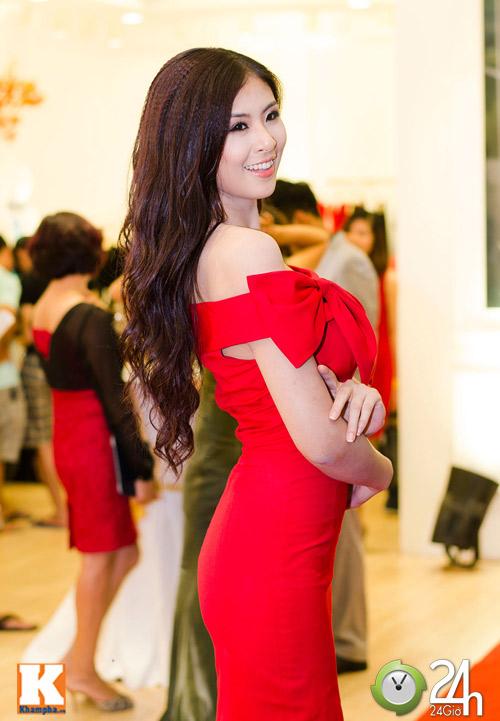 Hoa hậu Ngọc Hân xinh đẹp bất ngờ - 2