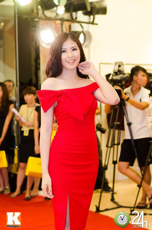 Hoa hậu Ngọc Hân xinh đẹp bất ngờ - 3