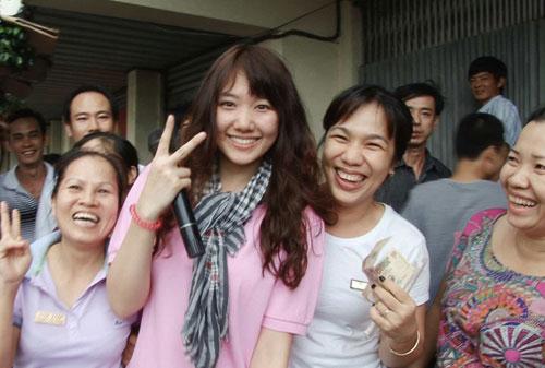 Cô gái Hàn gây sốt gameshow Việt - 4