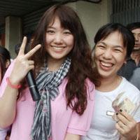 Cô gái Hàn gây sốt gameshow Việt