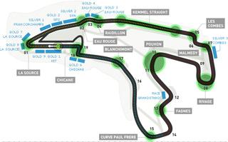 Lịch thi đấu F1: Belgium GP 2014 - 1