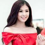 Thời trang - Hoa hậu Ngọc Hân xinh đẹp bất ngờ