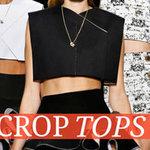 Thời trang - Chế áo crop top xinh yêu đang gây sốt