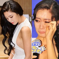Người đẹp Hàn khóc òa vì bị chê phản cảm